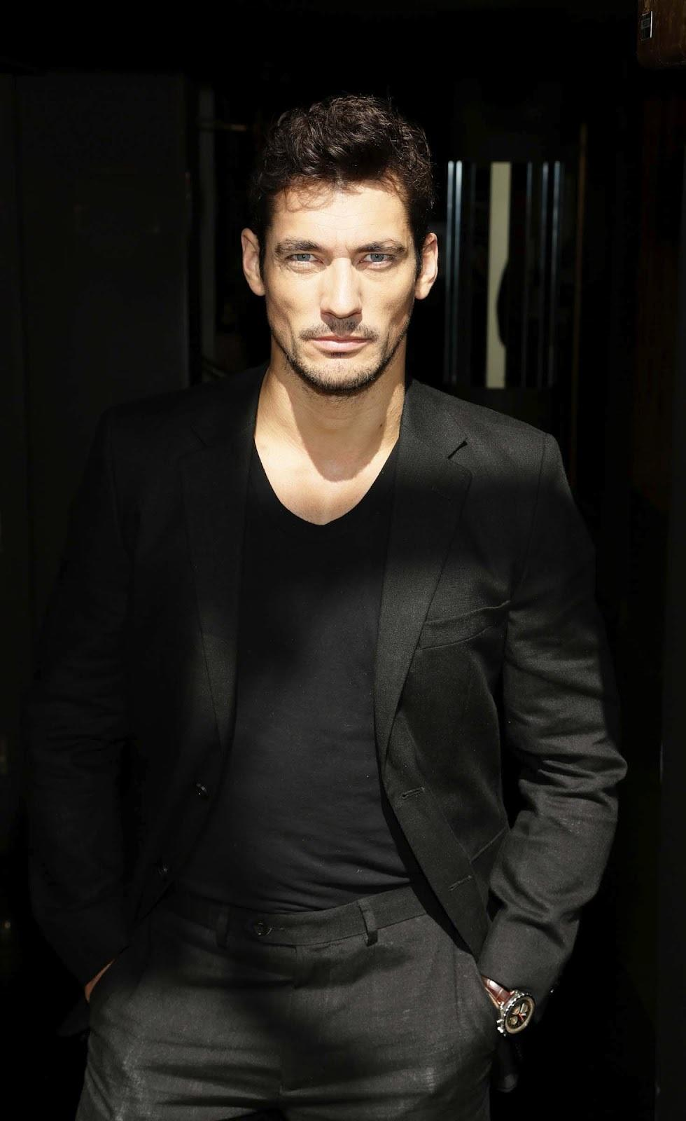 young sophisticated luxury david gandy sophisticated